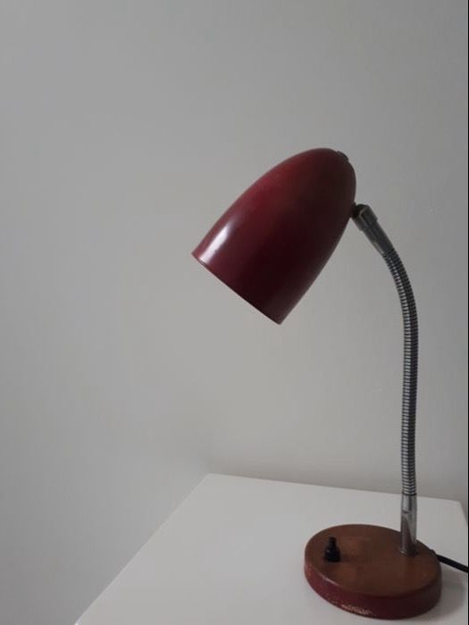 Hala - vintage modernist desk lamp