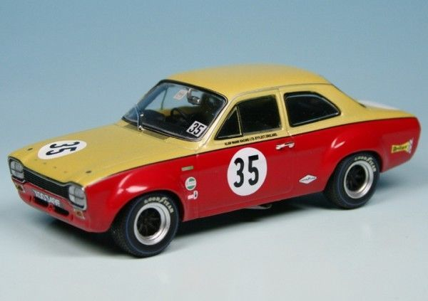 MiniChamps - 1:43 - Ford Escort I TC #35 Alan Mann Racing ADAC GP 1968 - Limited Edition of 1.008 pcs.