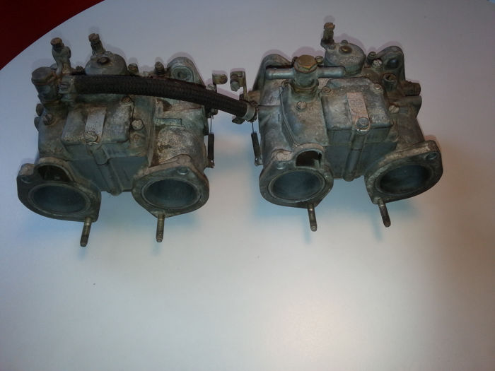 Set Solex DDH C40 carburettors for Alfa Romeo 2000