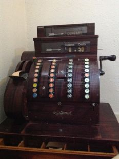 A cash register 'National' model 852-XX - first half of 20th century