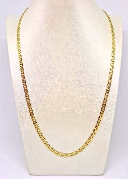 18 kt yellow gold necklace  Weight: 15.4 g - Length: 50 cm