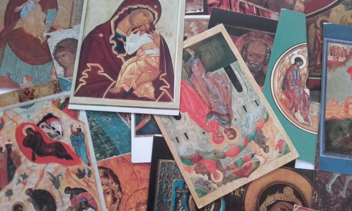 Beautiful collection of 350 devotional cards