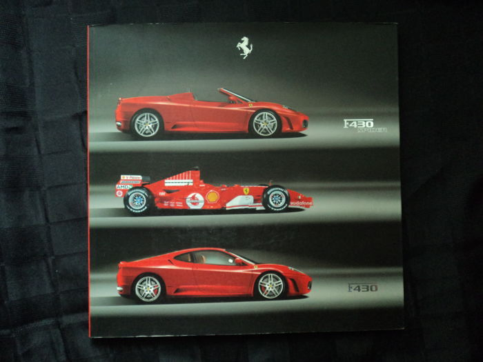 Original Ferrari catalogue - F 40 Spider & F 430 - 2005