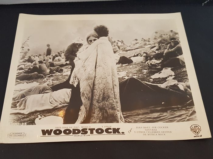 Woodstock legendary festival large photo aug 1969