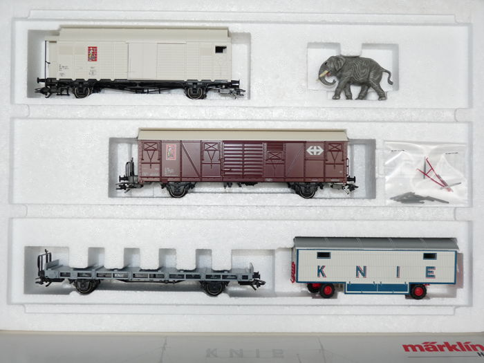 Märklin H0 - 4898 - Freight carriage - Circus Knee - SBB
