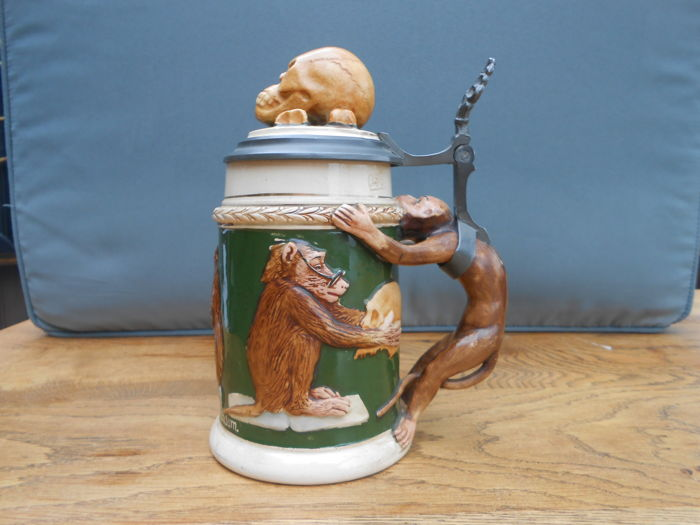 German novelty Stein - Darwin evolution