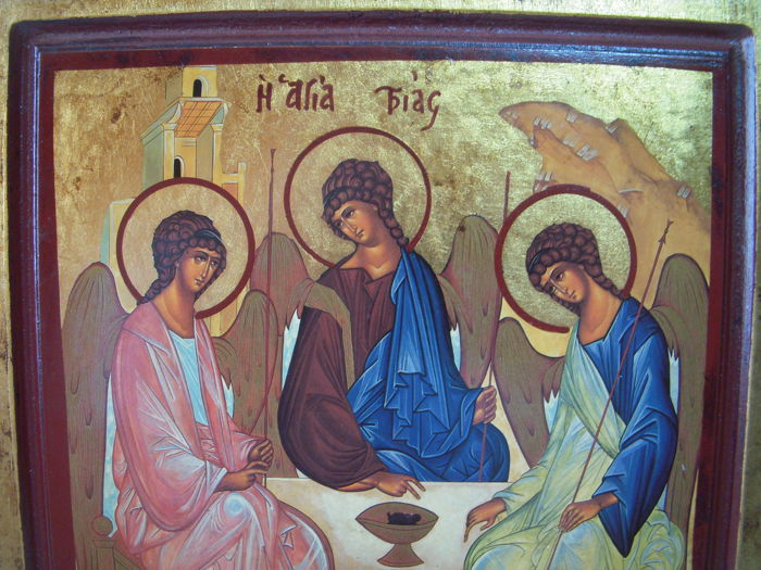 Trinity of the Old Testament - Greece - 20th century - Catawiki