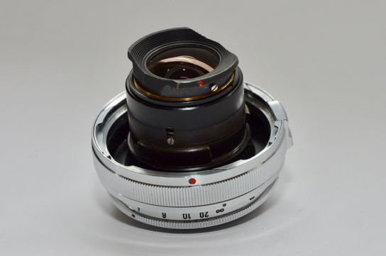 Carl Zeiss Biogon 21 mm., 1:4,5