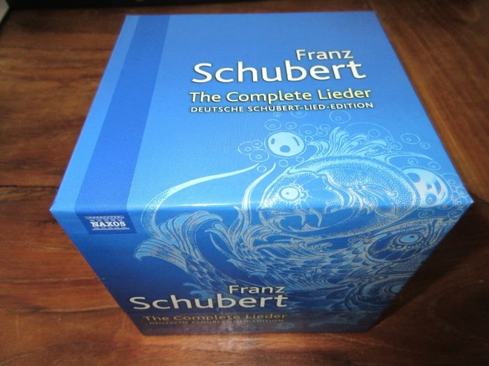 Franz Schubert - The complete lieder (38 cd box-set