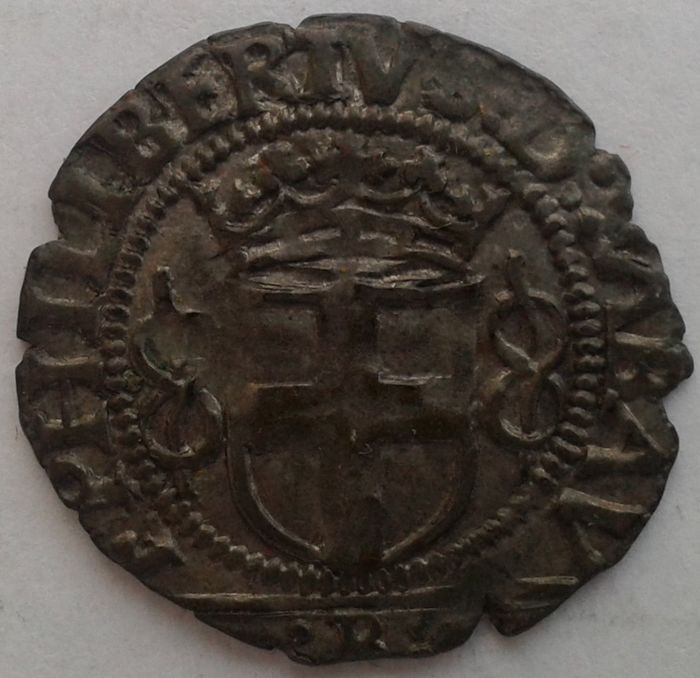 Duchy of Savoy - Emanuele Filiberto (1553-1580) Grosso, IV type, 1561, Bourg.