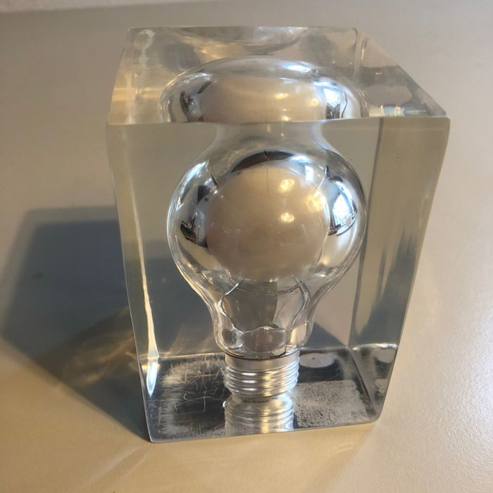 attributed to Pierre Giraudon - Pop Art Light Bulb Sculpture