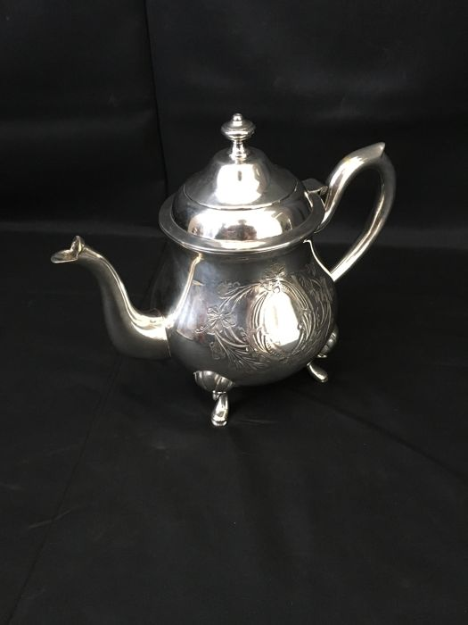 Silver Plated Rionet Francois Teapot