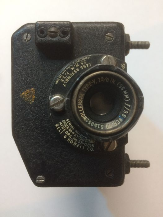 US Navy -- Bell & Howell -- 16mm gun camera