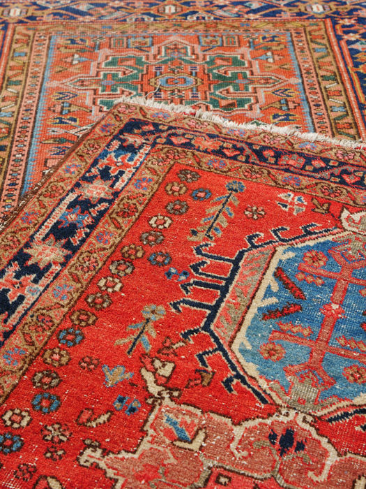2 Antique Karajah Rugs