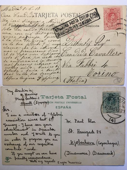 Old Spain Postcards 26x Barcelona And Other Cities Catawiki