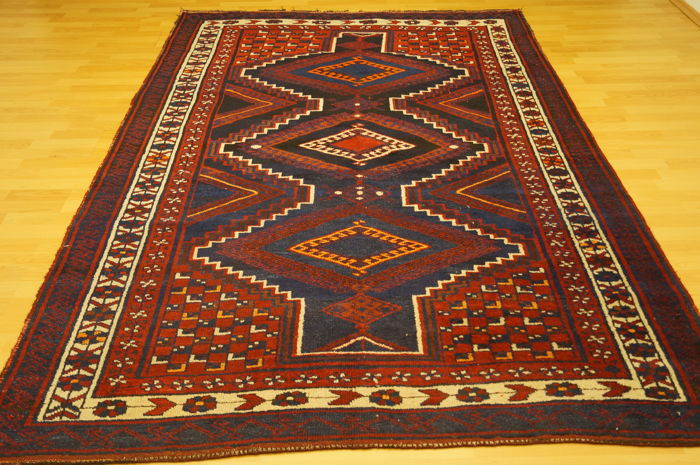 Kurdish carpet approx. 257 x 184 cm Iran