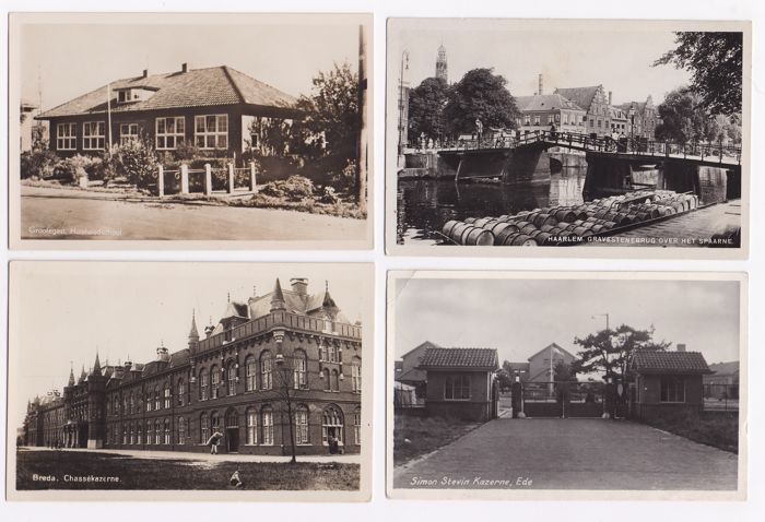 Netherlands - 165x - Beautiful collection of small villages and larger towns