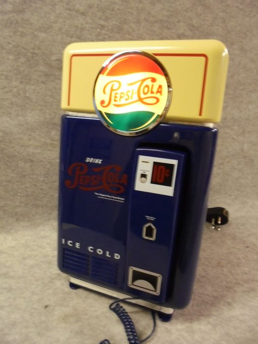 PepsiCola telephone (PepsiCo, Inc) + Original packaging - 1990s
