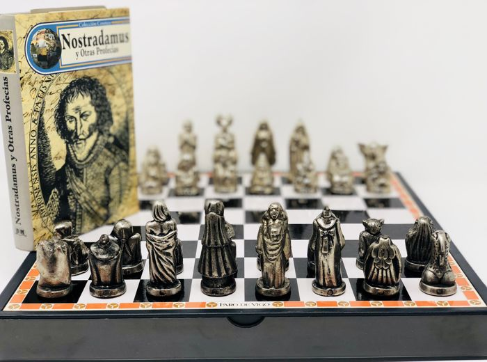 Esoteric chess with Nostradamus book