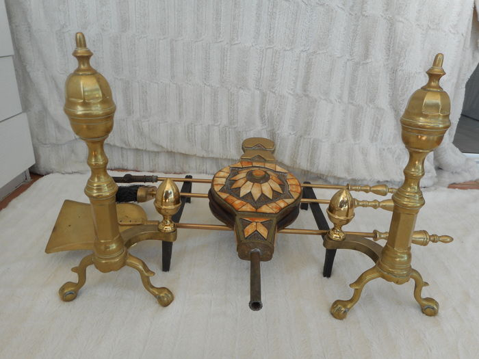 Fireplace Items In Bronze And Wrought Iron Catawiki