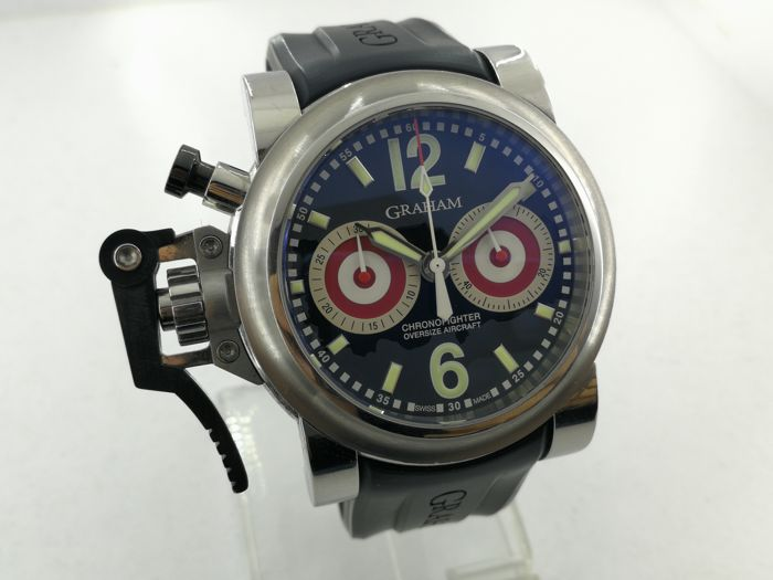 Graham - Chronofighter Oversize Aircraft - Limited Edition - 2OVGS - Men - 2000-2010