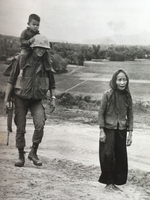 Unknown/Bellorget/Keystone/Alan Band  - Various Vietnam war, 1960's