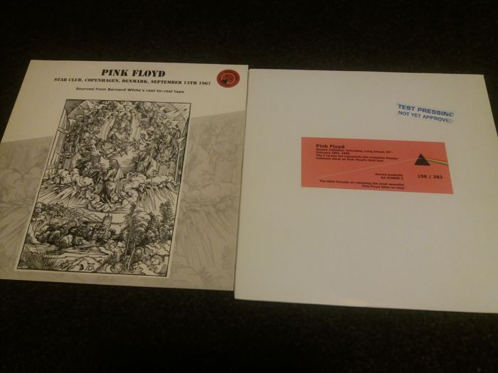 Pink Floyd 2 Job Lot Of  Aurora Australis ..Red Vinyls ..Test Pressing Rare
