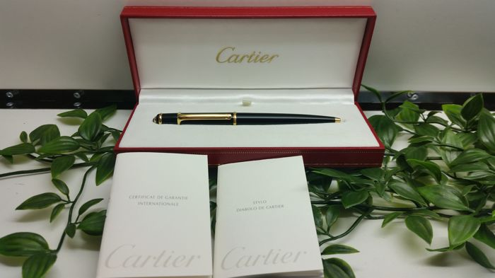 Cartier Diabolo Gold