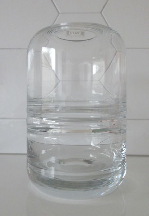 Krosno Large Clear Double Wall Vase Catawiki