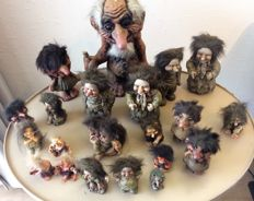 Collection of a troll family