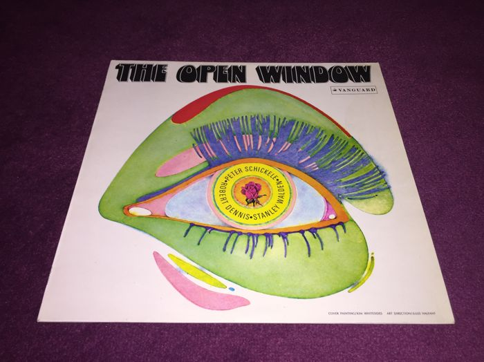 The Open Window - 1st LP 1969 Vanguard 1st Pressing!