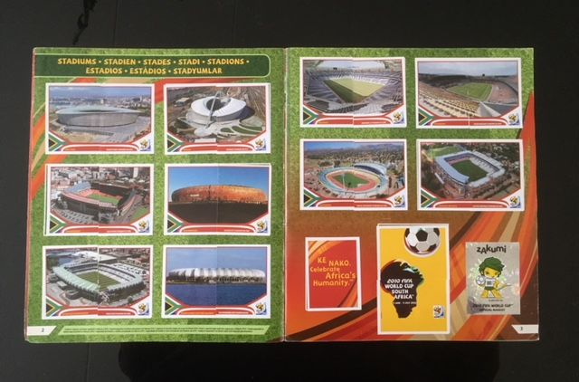 Panini - WC South Africa 2010 - Complete album.