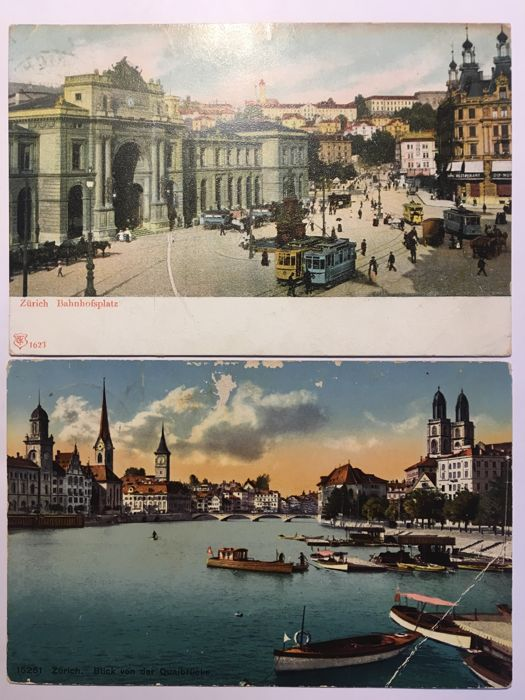 lot of 30x Helvetia / Switzerland postcards