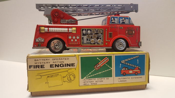 S.H. Japan - Length 22 cm. - Fire Engine