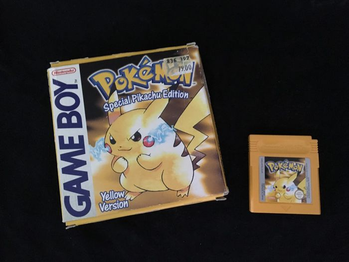 Nintendo Gameboy - Pokemon Yellow - Special Pikachu ED.