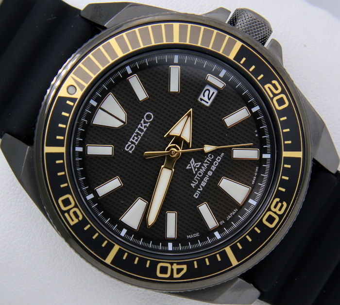 "Seiko - ""Samurai"" Automatic Diver's Made in Japan New - Men - 2017"