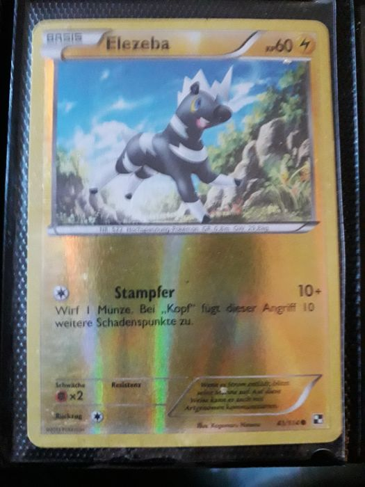 Pokemon Cards Rare 18 Hollo Cards Catawiki
