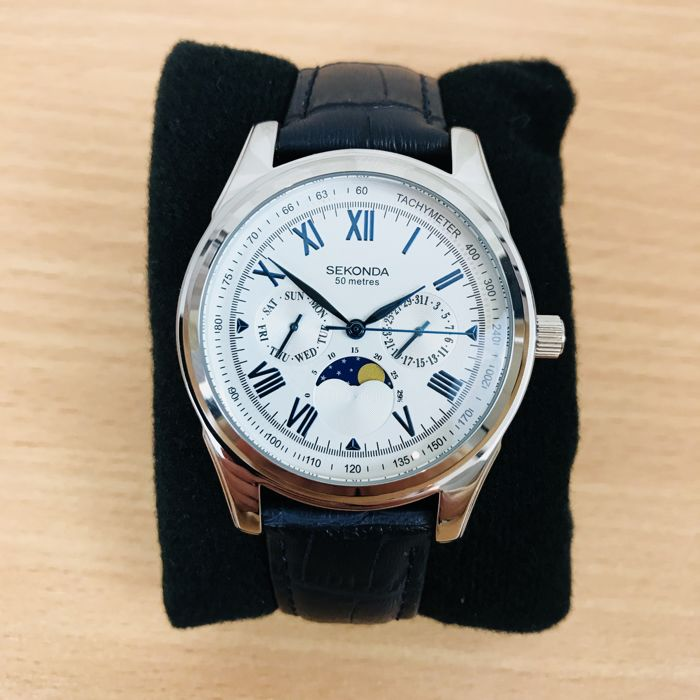 Sekonda - Moon Phase Watch  - Men - 2011-present