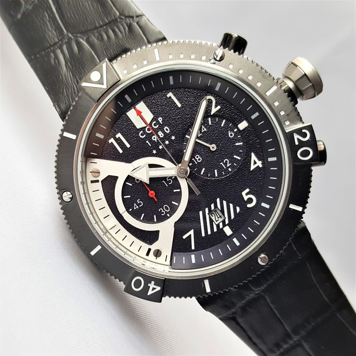 CCCP - Kashalot Submarine Chronograph - Men - 2018 - New