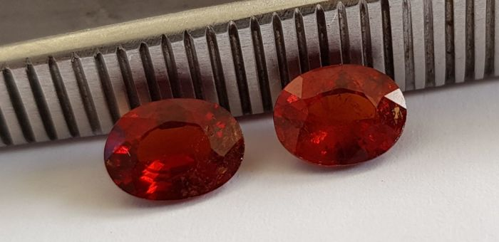 Spessartite garnet – 2.73 ct – No reserve price