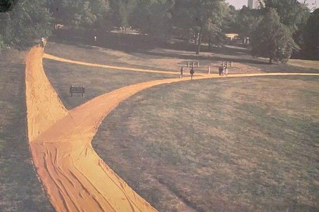 Christo e Jeanne-Claude - Loose Park wrapped walk ways