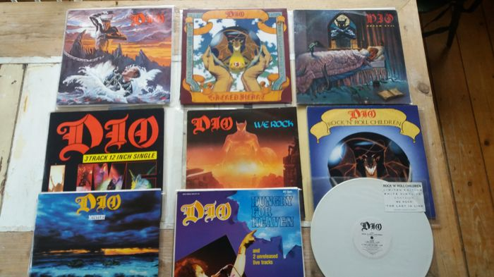 Dio 3 albums and 6x max 12""