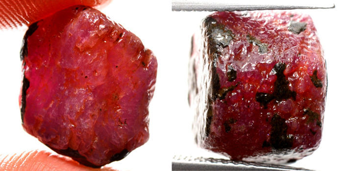 Lot of Natural Red Ruby - 38.10 Ct. (2)