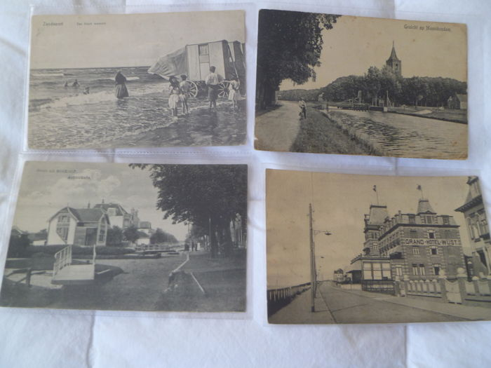 Lot of 96 postcards, the Netherlands