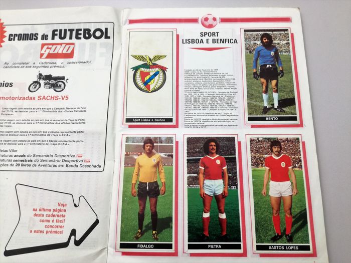 Variante Panini - (Golo Publisher) - Football 77/78 - Full Album