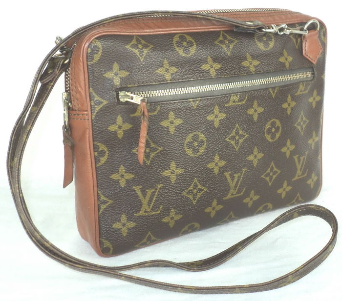 Louis Vuitton - Monogram Marly GM Bandoulière Shoulder/Crossbody Bag - Vintage