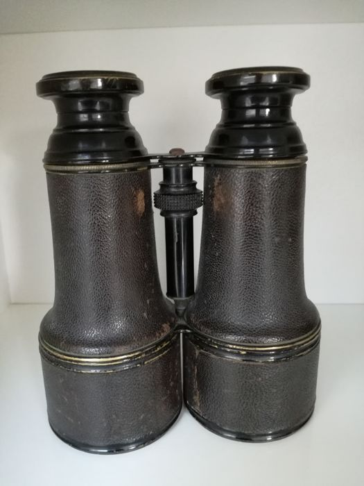 Military binoculars of the first world war - French Navy