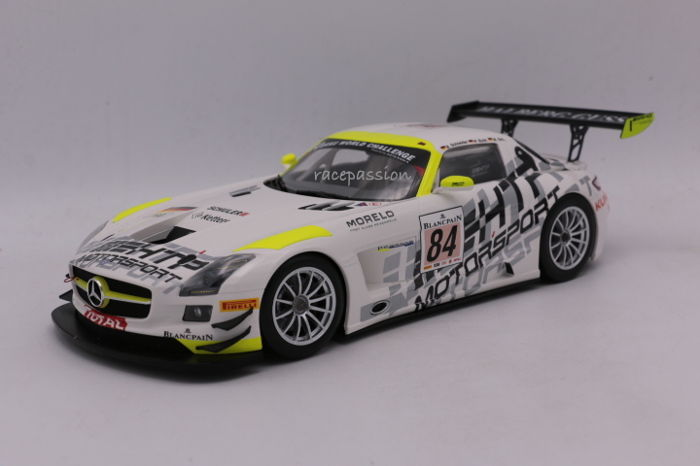 Minichamps - Scale 1:18 - Mercedes SLS AMG GT3 - Winners 24H Francorchamps - 2013 - Limited Edition