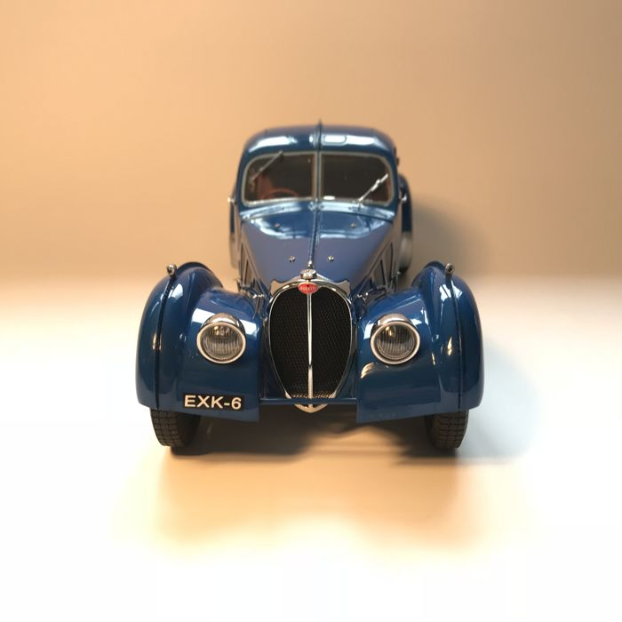 CMC - 1/18 scale - Bugatti Typ 57 SC Atlantic Coupé