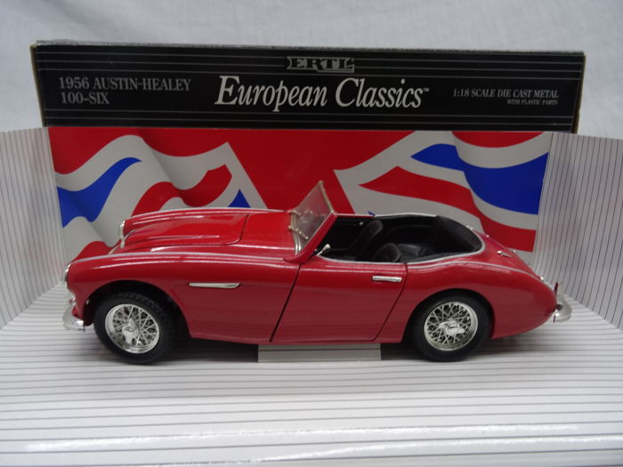 Ertl - Scale 1/18 - Austin - Healey 100-Six 1956 - Colour red